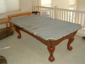 Proper pool table moving process in Orlando Florida